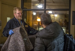 If the Burnside Shelter is at capacity, the Mission will at least offer a thick, warm blanket to our guests.