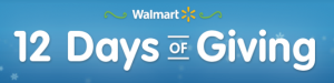 Walmart 12 Day of Giving