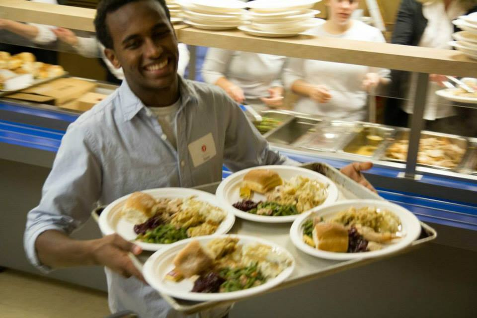We serve over 330,000 meals a year to our homeless guests at the BUrnside Shelter.