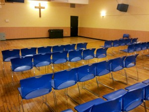 Chapel space at the Burnside Shelter