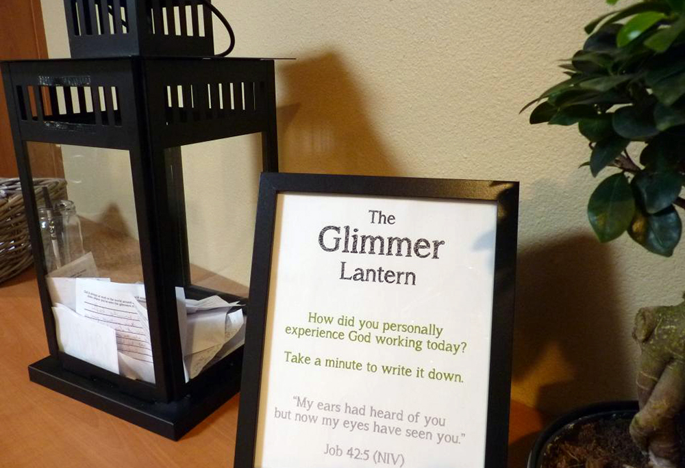 """""""Glimmers"""" can be seen all through Portland Rescue Mission. Here's a glimpse."""