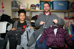 Winter coats are always a big need at Portland Rescue Mission during the winter months.