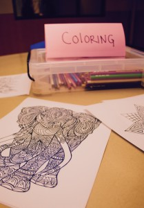 Help us offer more for our guests. We are in need of art supplies such as markers, paints, canvases, and clay.