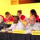 Volunteer to answer phones at a telethon or radiothon event