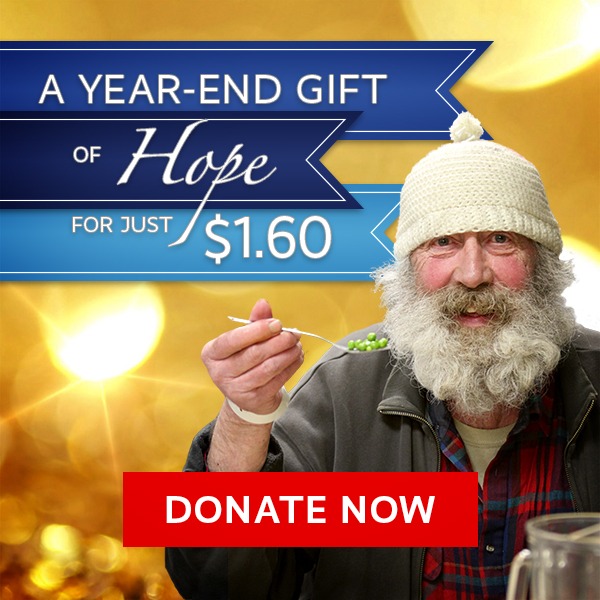 Year End Charitable Gift to Help Homeless in Portland