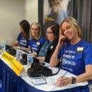pacific power volunteers at portland rescue mission telethon