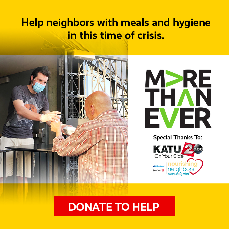 Help neighbors with meals and hygiene in this time of crisis